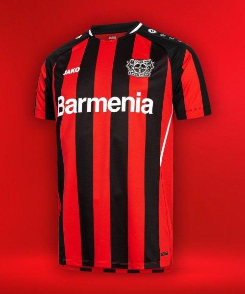 Le nouveau maillot domicile du Bayer Leverkusen, imaginé par Jako !