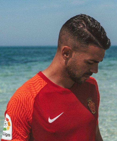 Le nouveau maillot domicile de Majorque, conçu par Nike