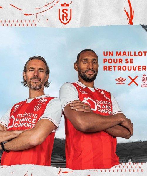 Le nouveau maillot domicile du Stade de Reims !