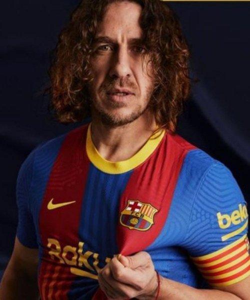 Le maillot édition Clasico que le Barça va porter contre l'Atlético Madrid