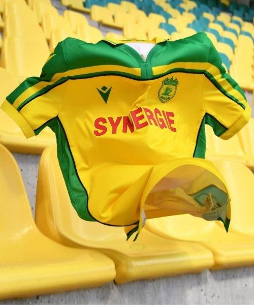 Le maillot du 20ème anniversaire du 8ème titre de champion de France pour le FC Nantes !
