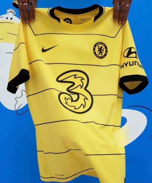Maillot Chelsea extérieur 2021/2022