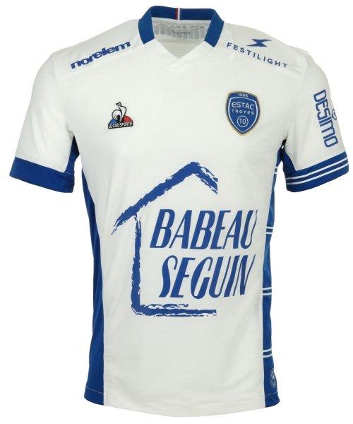 Le maillot extérieur de l'ESTAC Troyes 2021-2022