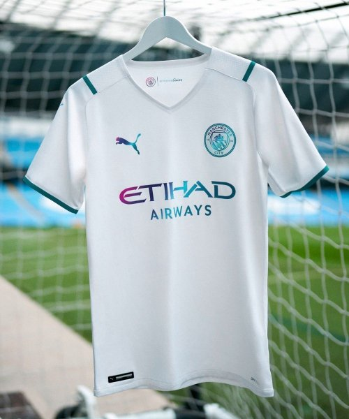 Maillot extérieur Manchester City 2021-2022