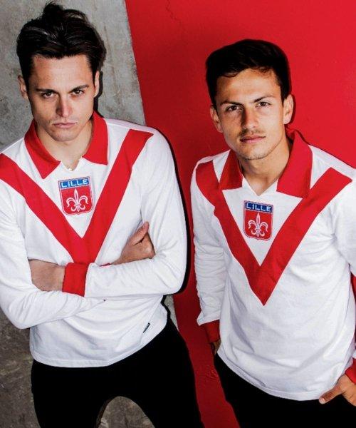 Le maillot rétro du LOSC présenté par Copa