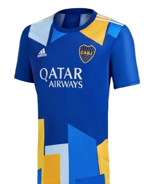 Le troisième maillot de Boca Juniors pour la saison 2021