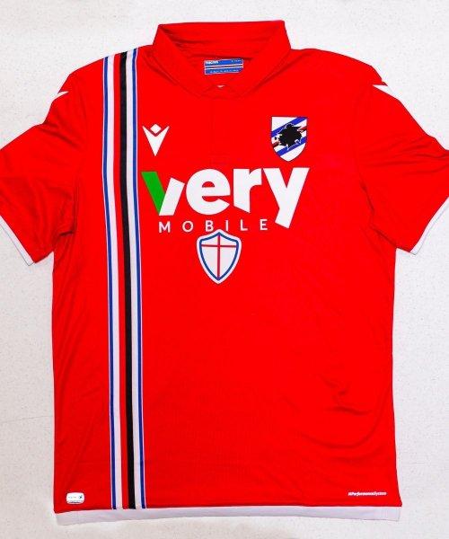 Le troisième maillot de la Sampdoria pour la saison prochaine !