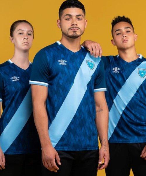 Le nouveau maillot extérieur du Guatemala !