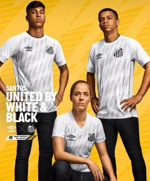 Le nouveau maillot home de Santos