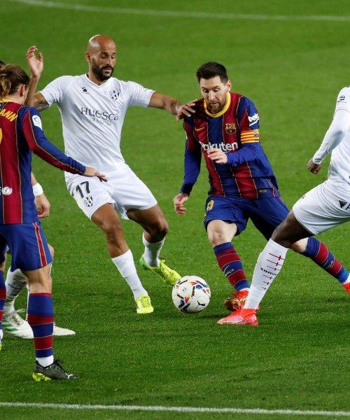 Messi, le roi du dribble