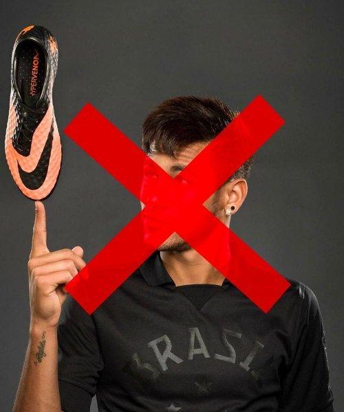 Neymar a quitté Nike comme de nombreuses stars