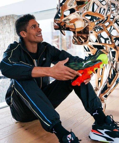 Raphaël Varane signe officiellement chez Puma