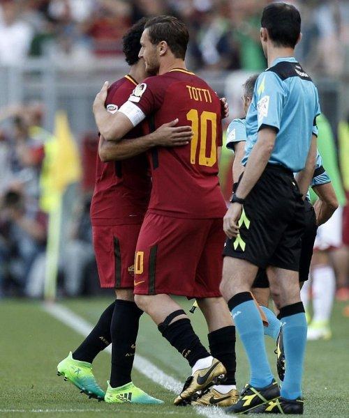 Francesco Totti, capitaine emblématique de l'AS Roma
