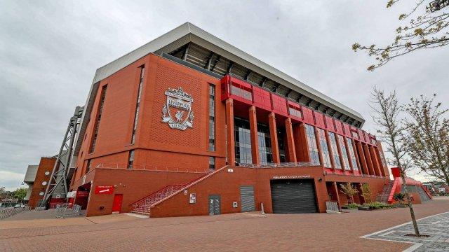 Anfield, le stade de Liverpool