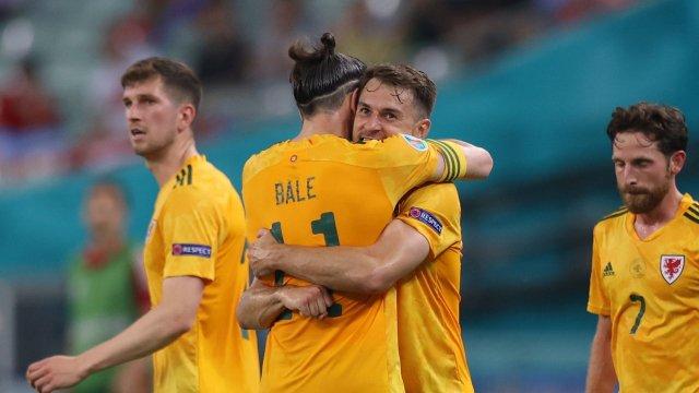 Aaron Ramsey et Gareth Bale