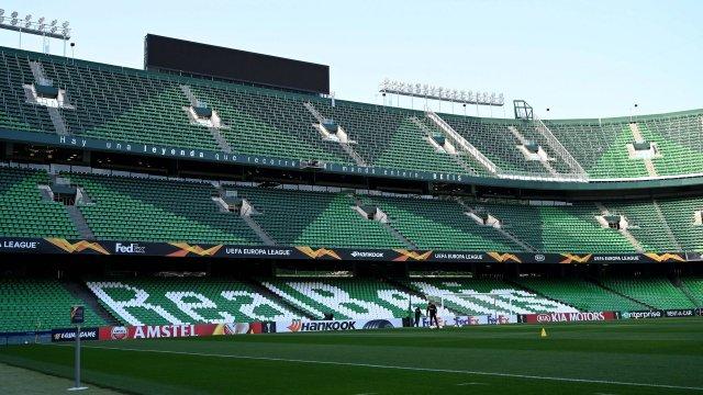 Le stade Benito Villamarín du Betis Séville