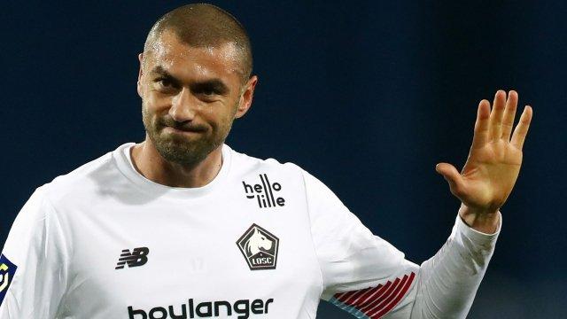 Burak Yilmaz avec Lille