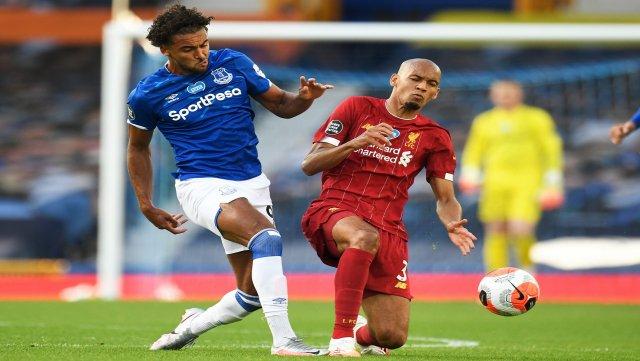 Match verrouillé entre Liverpool et Everton à la pause