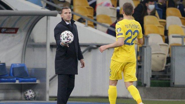Andriy Shevchenko avec Mykola Matviyenko