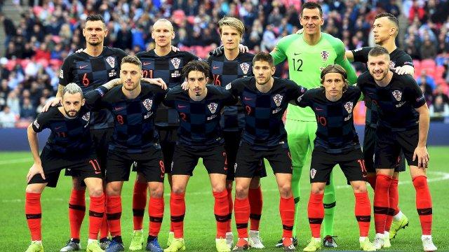 La sélection de la Croatie