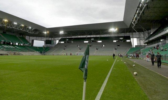 Le stade Geoffroy-Guichard, surnommé « le Chaudron » où officie l'AS Saint-Étienne