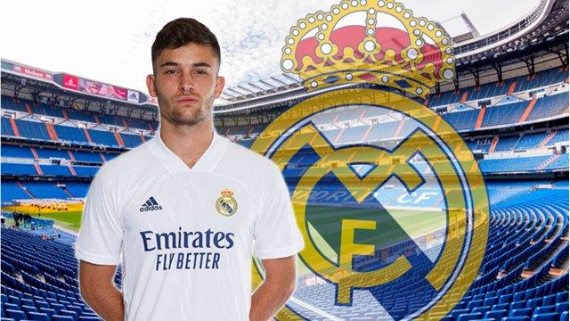 Hugo Duro, sous les couleurs du Real Madrid
