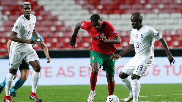 N'Golo Kanté et Paul Pogba