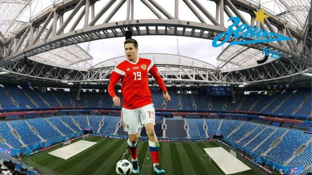 Daler Kuzyaev joueur du Zenit et de la sélection russe
