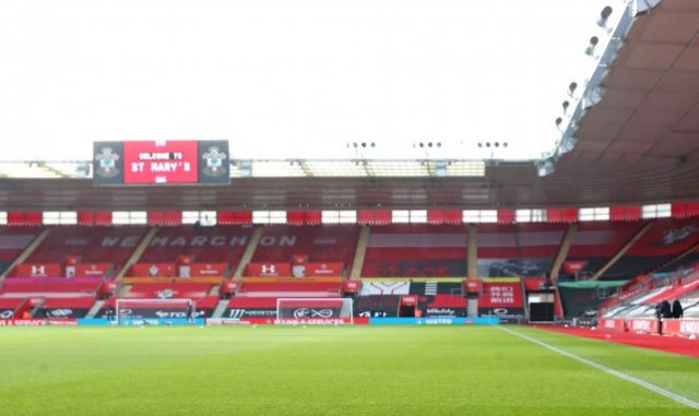 Le St Mary's Stadium de Southampton