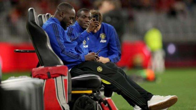 Manchester United FC Romelu Lukaku Menama