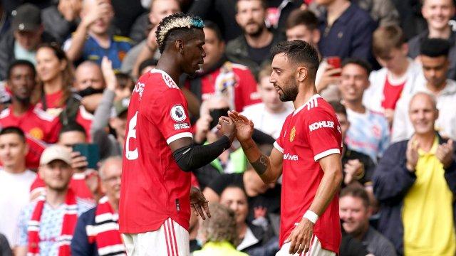 Paul Pogba et Bruno Fernandes déroulent face à Leeds United !