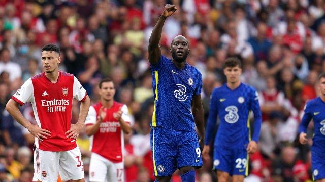 Romelu Lukaku marque son premier but pour son retour en Premier League !