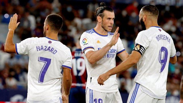 Real Madrid Hazard Bale Benzema