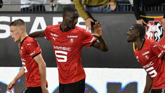 Serhou Guirassy sous le maillot de Rennes
