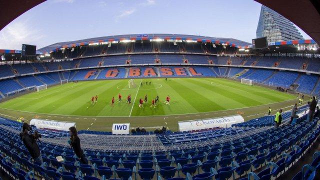 Le St. Jakob Park Stadium de Bâle, en Suisse