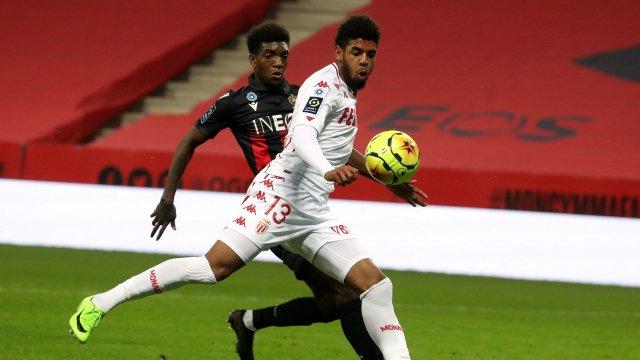 Willem Geubbels sous le maillot de l'AS Monaco