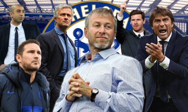 Chelsea : l'addition très salée payée par Roman Abramovich à ses entraîneurs virés