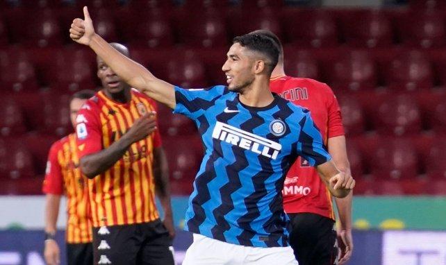 Inter :  Antonio Conte prévient Achraf Hakimi