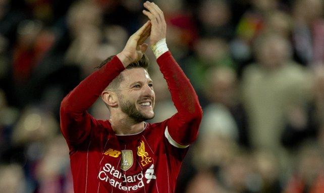 Adam Lallana sous le maillot de Liverpool