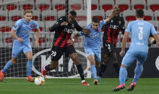 L'OGC Nice craque encore face au Slavia Prague !