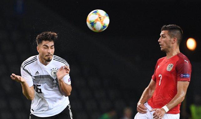 Adrian Grbic au duel contre l'Allemagne de Suat Serdar