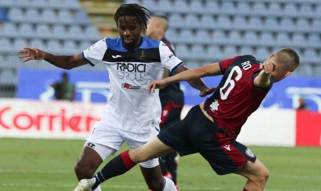 Adrien Tameze sous le maillot de l'Atalanta