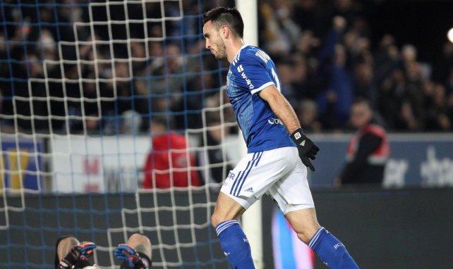 Adrien Thomasson ouvre le score pour Strasbourg contre Rennes !