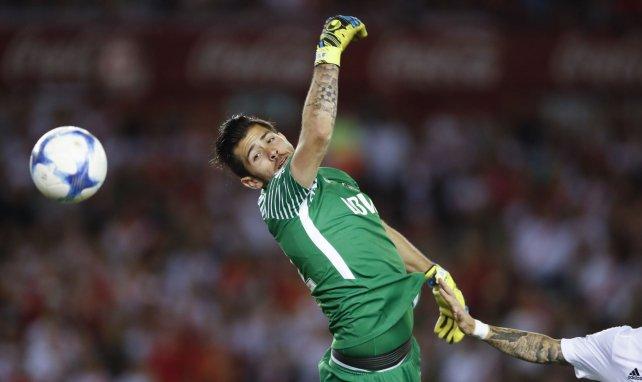 Agustin Rossi sous les couleurs de Boca Juniors lors du derby face à River Plate