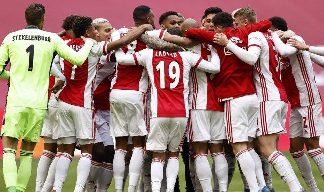 L'Ajax célèbre son 35ème titre de champion des Pays-Bas