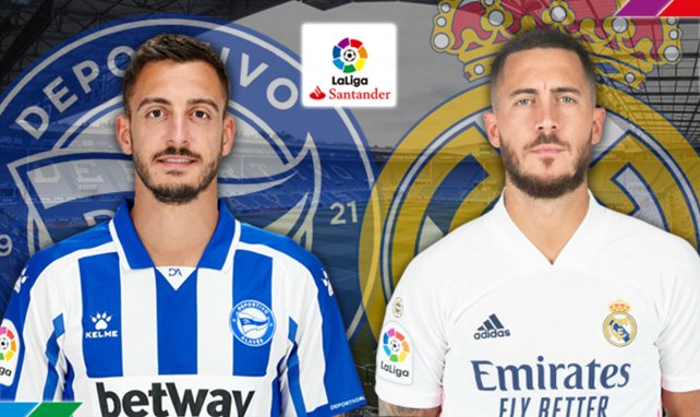 Alavés - Real Madrid : les compositions sont tombées