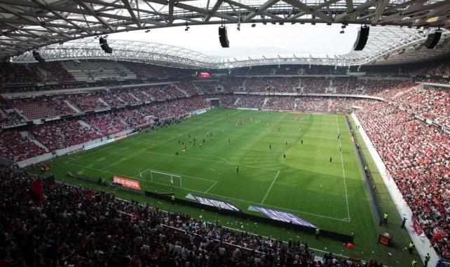 Le stade de l'OGC Nice, l'Allianz Riviera