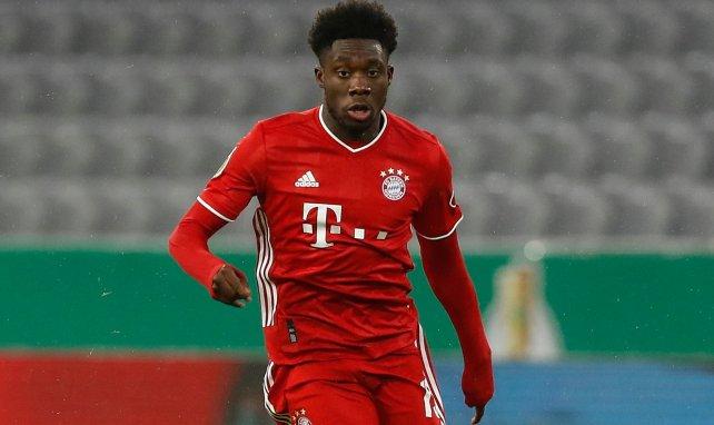 Alphonso Davies sous le maillot du Bayern