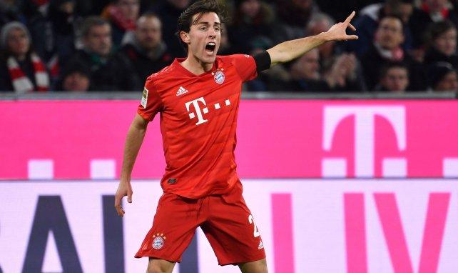 Alvaro Odriozola lors d'un match avec le Bayern