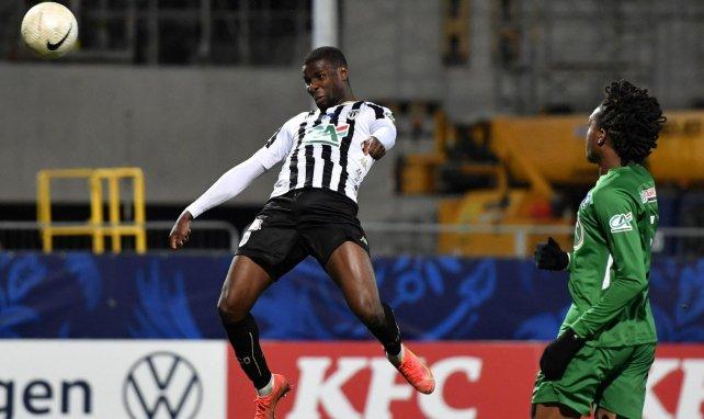 Ibrahim Amadou sous le maillot d'Angers